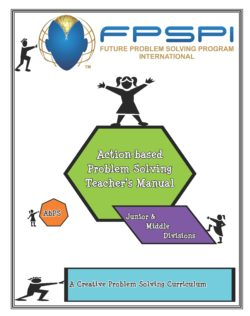 Action-based Teacher Manual – Junior/Middle Division Grade 3-9