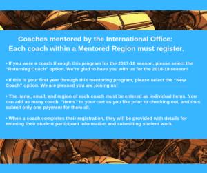 Annual Coach Fee