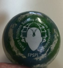 FPS Earth Bouncy Ball