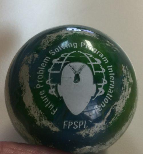 FPS Earth Bouncy Ball