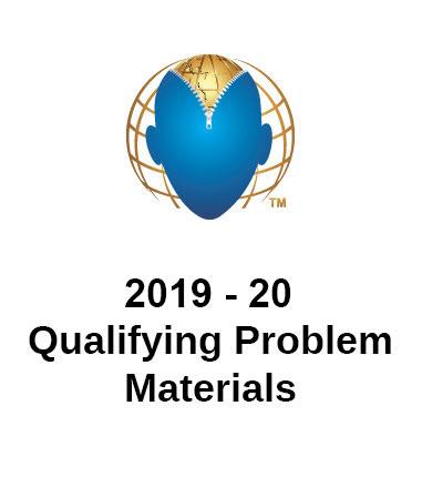 2019 - 20 Qualifying Problem Materials
