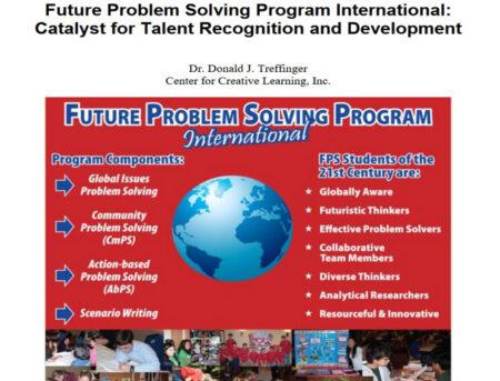 FPSPI Catalyst for Talent Recognition and Development