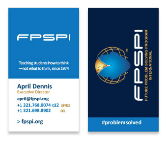 FPSPI Business Cards