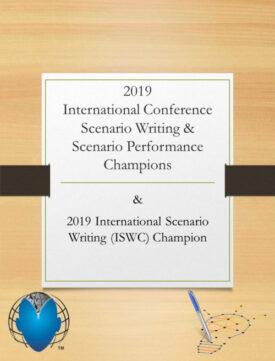 2019 Scenario Writing and Scenario Performance Champs