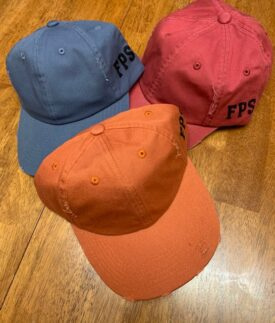 Distressed Ball Caps