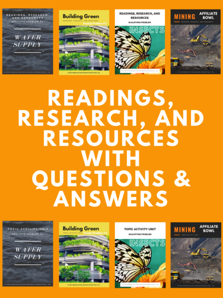 2021-22 All Readings, Research, and Resources Full Set (includes Q&A)