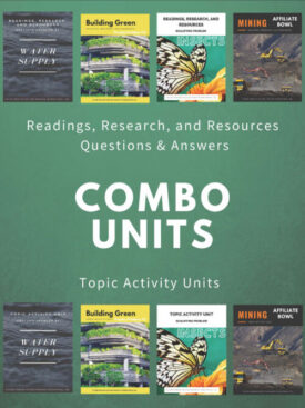 2021-22 Readings, Research, Resources (Q&A integrated into RR&R) and All Topic Activity Unit Full Set FORMERLY COMBO #4